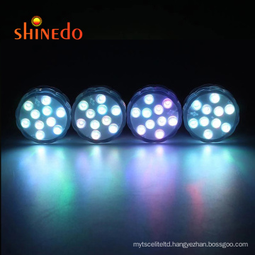 remote control RGB luces piscina IP68 Waterproof LED Swimming Pool Lights LED underwater swimming light for pool