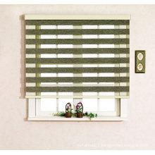 zebra blind curtain design for bedroom