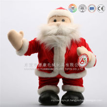 OEM personalizado design de pelúcia mini natal santa boneca