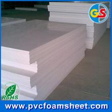Folha especial da espuma do tamanho do PVC para o edifício da casa (fábrica: Shandong)