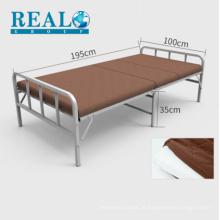 Fabricante de design de corrimão de cama moderna dobrável mobília da cama almofada vender com desconto