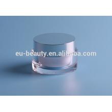 Light Glass Kosmetik Creme Flasche