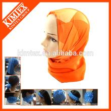 Magic multifunctional tube fleece scarf