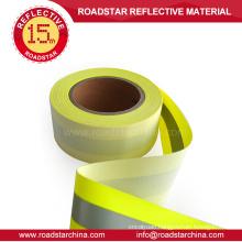 High brightness reflective flame retardant tape