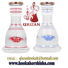 Best Selling White Glass General Hookah Bottle