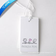Cheap Priced Hang Paper Tag Printing for Clothing Hang Tag
