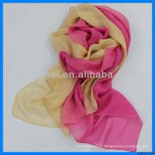Изящный красочный китайский шелковый шарф