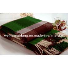 Lana Merino pura lana tejida con flecos tiro (NMQ-WT045)