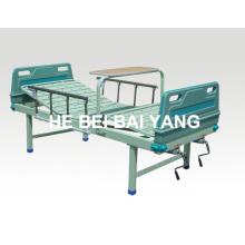 A-90 cama de hospital manual de duas funções