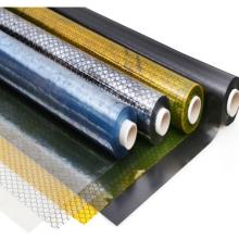 PVC Anti-Static Cleanroom ESD Vinyl Black Yellow Soft Strip Curtain