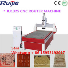 China Madeira CNC Router Machine, CNC Router 1325 com CE