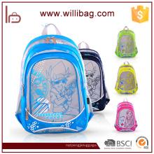 2016 mochila barata de la historieta de los niños del bolso de la escuela primaria de la moda