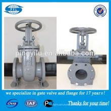 Manipula toda a pressão pn16 dn100 aço Professional produtor válvula de portão