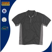 China Factory Custom Design 100% Polyester Work Polo Shirt for Men