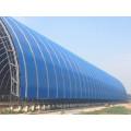 Großer Span Stahl Raumrahmen Gemeinsame Kohle Lagerhalle