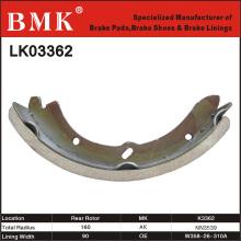 Umweltfreundliche Bremsbacken (K3362) für Mazda