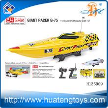 2,4 GHz 1:12 Maßstab 550 Typ Motor drahtlose Fernbedienung Köder Boot zum Verkauf mit CE Test Report H135909