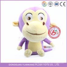 Custom Stuffed Toy Cute Plush Monkey Doll for Girl