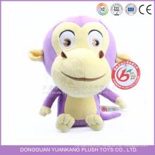 Boneca de macaco de pelúcia de brinquedo de pelúcia personalizado para menina