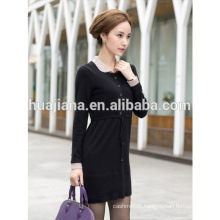 fashion design cashmere knitting woman's dress