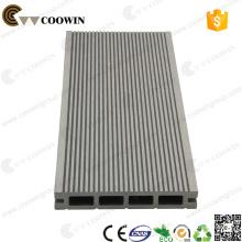 Tablón de la cubierta de la exportación de China tablero compuesto WPC decking cubierta anticorrosiva tablero de madera de goma