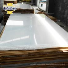 buena hoja de cristal de plexiglás irrompible de 3m m de la fábrica