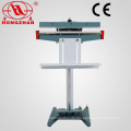Metal Machine Körper Pedal Sealer für PE LDPE PP LLDPE Hm-HDPE Glas Papier Nylon, BOPP Aluminium Folie Kraftpapier
