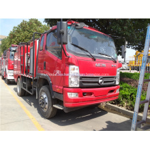 KAMA nuevo diseño 4x2 camión de bomberos civiles