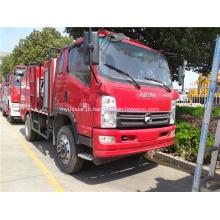 KAMA novo design 4x2 caminhão de bombeiros civis