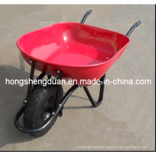 Qingdao Home and Garden Wheel Barrow Have Steel Tray