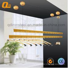 Gancho de tela de manivela para el secado del paño del balcón