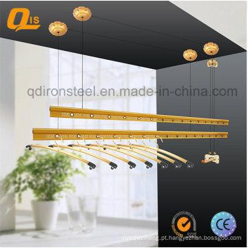 Cabide de pano manivela para varanda secagem de pano