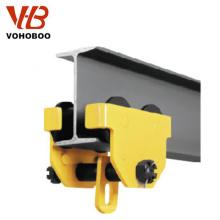 Trole hidráulico manual do aço de alta qualidade 2 toneladas