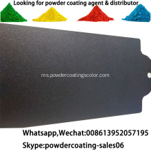 Spray Electrostatic Epoxy Polyester Hybid Powder Coating Paint