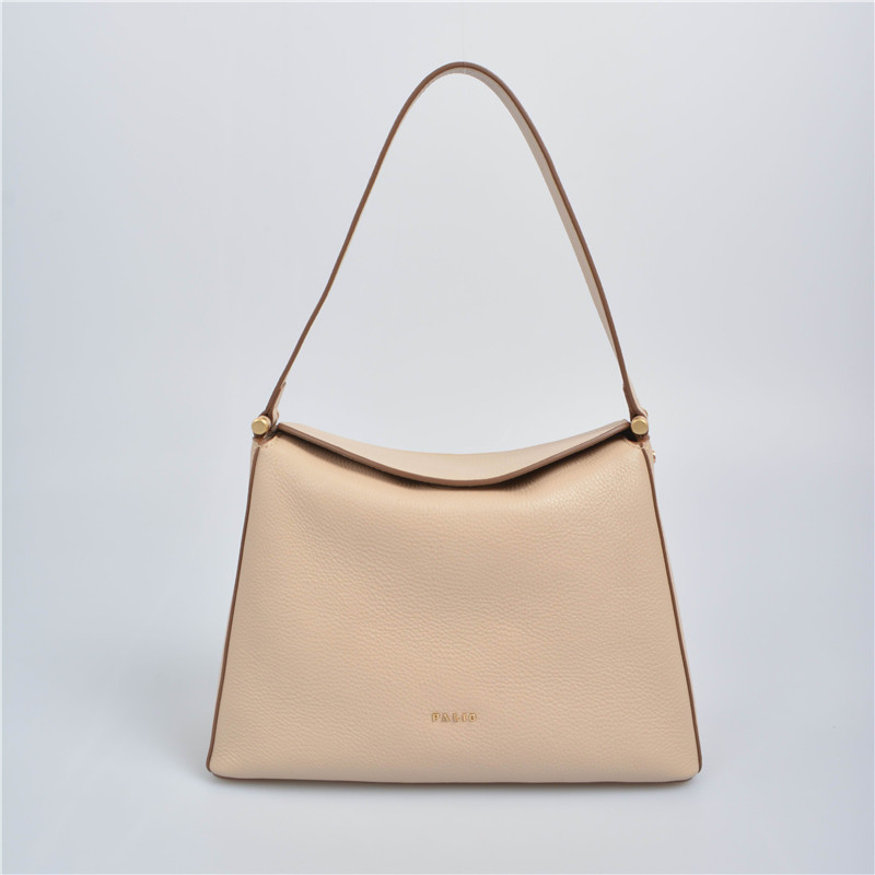 Large-capacity single-shoulder hobo bag