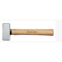 FRENCH TYPE STONING HAMMER W/HICKORY HANDLE