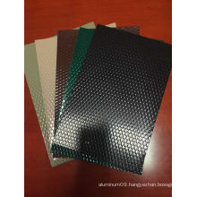 PE/PVDF Color Coated Embossed Aluminum Sheet/Coil for Roofing