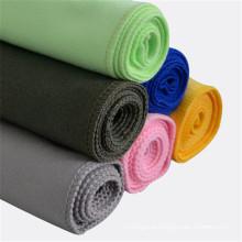 toalha de rosto de alta absorvência têxtil musselina camurça hotel