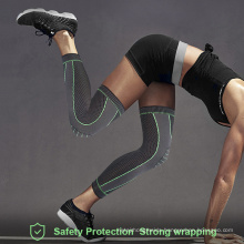 Wholesale Unisex Sports Knee Pads Football Mountain Climbing Knee Protector Warm Knitted Nylon Knee Pads