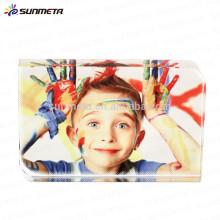 SUNMETA blank crystal photo frame for sablimation printing, sublimation souvenir, sublimation gift, sublimation craft