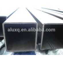 Aluminum square tube, T5 and T6 temper, 6063, 6061 and 6060 grades