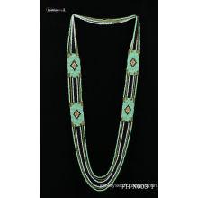 Collier de semences naturelles perles collier fait main