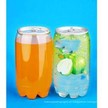350ml Pet Can com tampa para beber