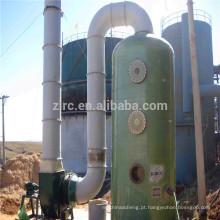 Torre de absorção de gás de fibra de vidro com purificador de cloro
