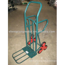 six wheels for climbing stair sack truck HT8001