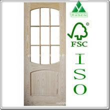 Diseño de interiores Nature Oak Veneer Wood Door