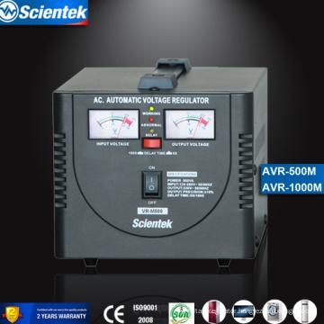 Relay Type Input 130 to 260V Output 220V 500va Automatic Voltage Regulator