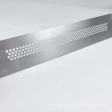 oem hardware aluminum plate stamping parts fabrication punch hole sheet metal stamping
