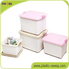 Herstellung von 96L Kunststoff PP Aufbewahrungsbox Container mit Welle