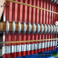 Machine à rouleaux de feuilles de tuile en acier de couleur